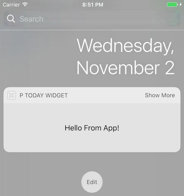 iOS Today Widget — iReka Soft