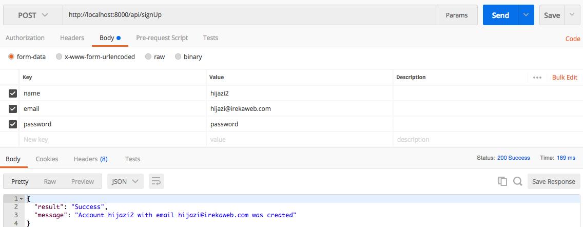 Building REST API with Laravel — iReka Soft